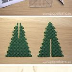 Colorize Your Home: A Wonderful Christmas Tree Design with 3d Hama Beads