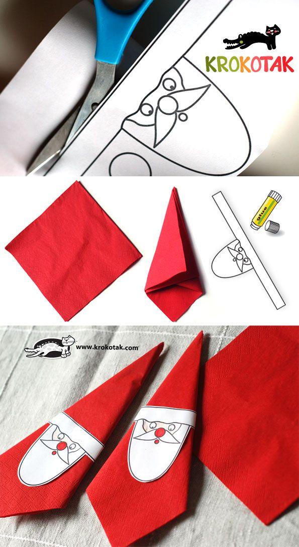These santa claus napkin holders are wonderful and easy to make these santa claus napkin holders are wonderful and easy to make maxwellsz