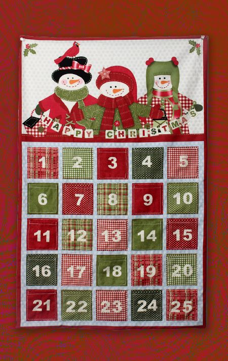 Advent Calendar Design Your Own : Making new year decorations christmas countdown calendar