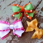 How To Make Different Designs of Homemade Tie Bows By Saving Your Money