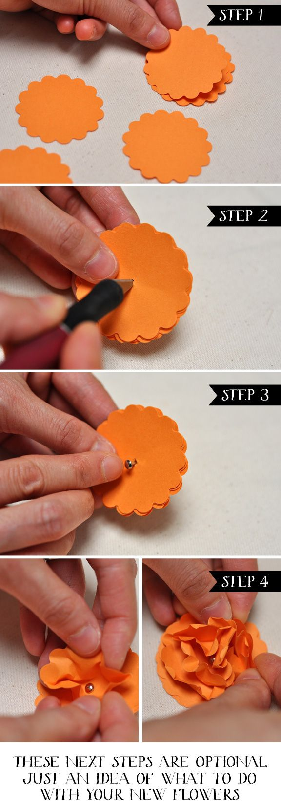 How To Make Simple Paper Flowers You Flowers Healthy