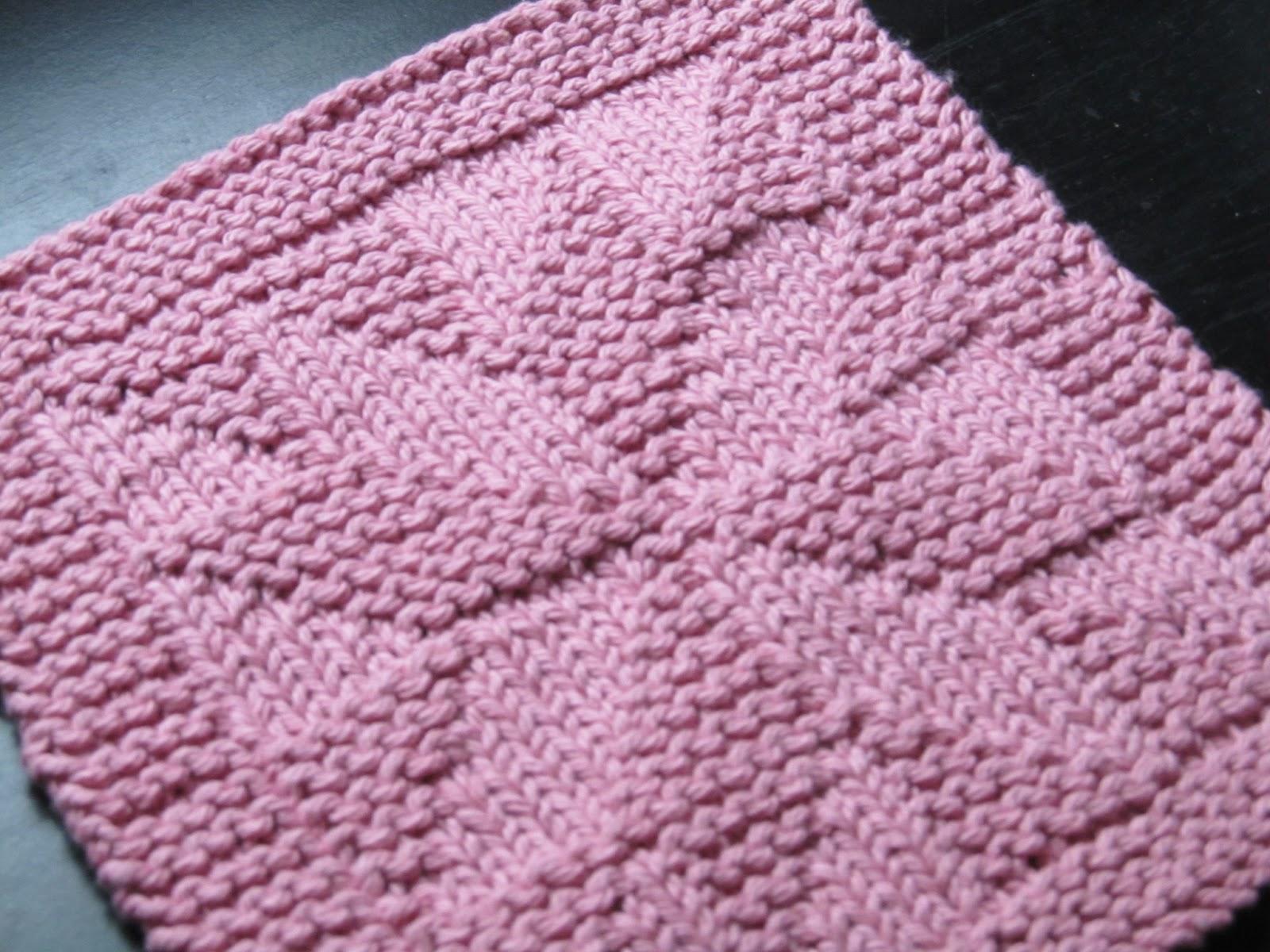 Knitting Styles Patterns : New knitting styles and tricks of washcloth paterns diy
