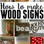 How To Make Different Handmade Home Sign Decorations By Using Wood