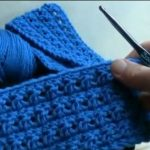 The Best Turtorial On Making Scarf By Criss Cross Crochet