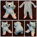 Make Teddy Bear With Baby Clothes