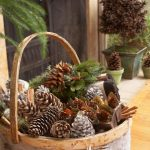 Enjoy Your Sunday Collecting And Making Pinecone Decorations