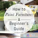 Furniture Painting Guide For Beginner DIY Lovers