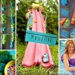 Home Decorations Made Of Pool Noodles