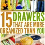 15 Brilliant Organizing Ideas For Your Drawers