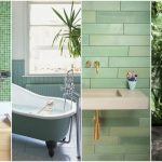 Creative Bathroom Decorations With Green Touches