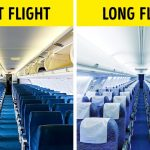 See Why the Airplane Seat Colors Are Almost Always Blue