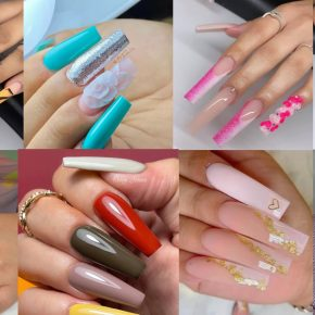 The Most Beautiful Nail Art Designs Done for Long Nails