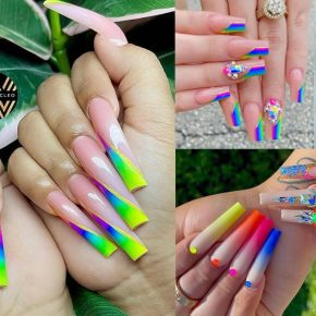 Carry The Rainbow On Your Fingers With These Nail Art Models
