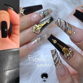 Long Nail Art Designs That Attract Attention With Their Elegances in 2021