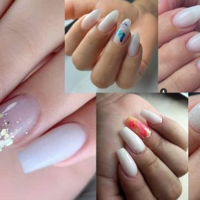 Top 84 Nail Arts Designs That Carry The Nobility Of White Color