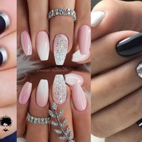 70 Trendy Nail Art Designs with Special Shapes